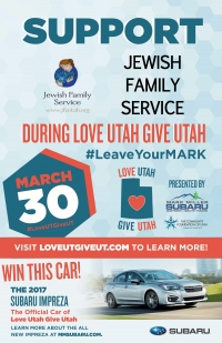 LOVE UTAH GIVE UTAH - MARCH 30TH